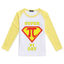 d4b5a7549 Boys T-Shirt Funny Girl T Shirt Kid Boy Raglan Long Sleeve Tops Creative  Design