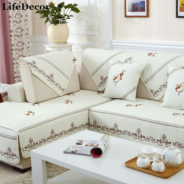 Sofa Cover Set White Sectional Slip Sofas Modern Magical Covers Corner Towel Fabric Double