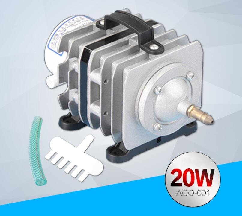 Pompe à air électromagnétique Portable augmentant la pompe à oxygène réservoir de poisson pompe à oxygène