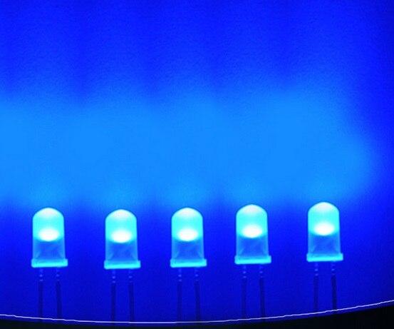 1000 шт./лот Светодиодная лампа бусы линии 5 мм/f5, круглый белый волос синий, супер яркий туман ноги длинные светло-светодиод