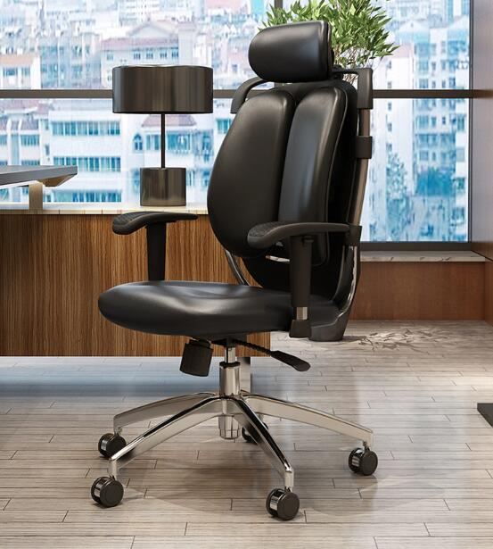 Ergonomic Computer Chair Home Double Back Chair Ergonomic Office Chair Swivel Chair Electronic Sports Chair.