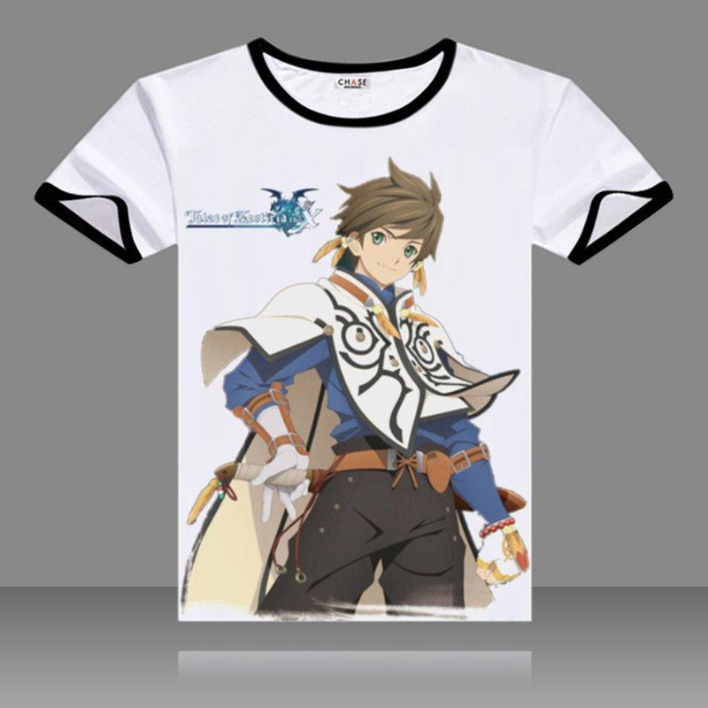 테일즈 오브 제스 리리아 티셔츠 블랙 오 넥 반팔 에드나 탑스 패션 프린트 된 캐리 티즈 티셔츠 여름 티셔츠