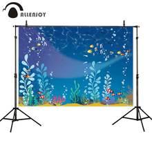 Фон для фотосъемки allenjoy с изображением морских водорослей