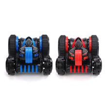 JJRC RC 2.4G 360 Degree Flip Double-sided Stunt Rolling Drift Roll Car Buggy Six-channel Five-wheel Deformation Vehicle Toy Gift