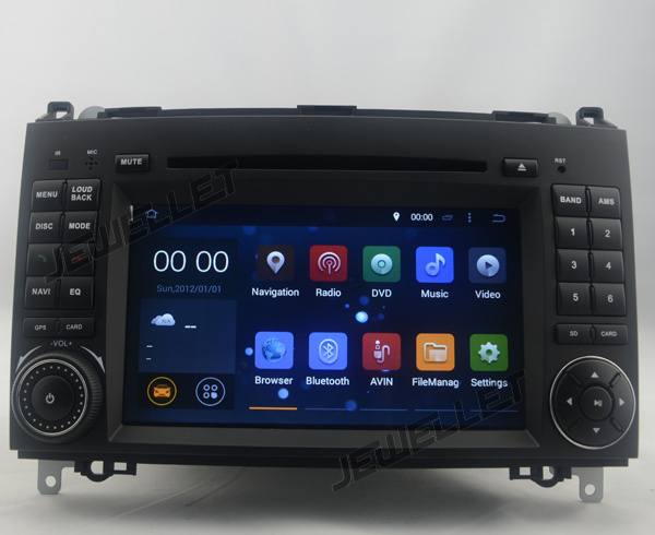 Octa core IPS screen Android 9,0 Auto DVD GPS radio-Navigation fü<font><b>r</b></font> Benz W169 W245 Sprinter W639 Vito Viano VW <font><b>crafter</b></font> LT3 image