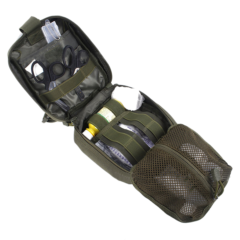 Travel hunting hiking Tactical IFAK First Aid Bag MOLLE EMT Medical Utility Pouch rescue package