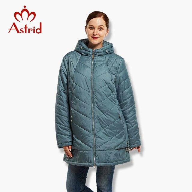 2018 Астрид женский пуховик зима большой Размеры пальто для женщин теплая пуховая куртка зимняя большой Мужские парки новая зимняя хлопковая верхняя одежда AM-1618