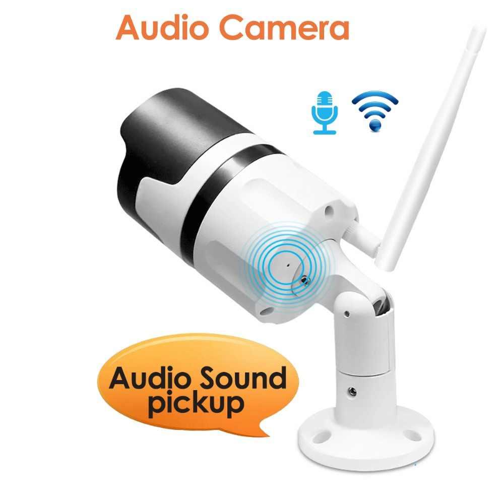 4CH аудио-разговора HD Беспроводной NVR Kit P2P 1080P внутренний наружный IR Ночное Видение безопасности 2.0MP IP Камера WI-FI CCTV Системы