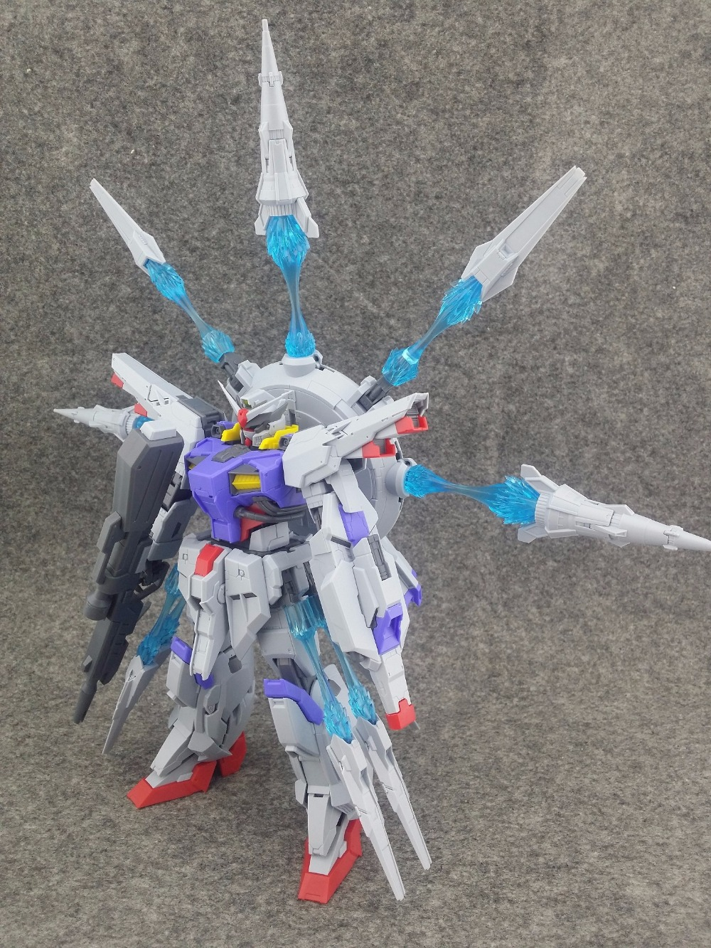 DevilArts DA Model ZAFT ZGMF X13A SEED MG 1/100 PROVIDENCE Gundam Ver.SUN-in Action & Toy Figures from Toys & Hobbies    3