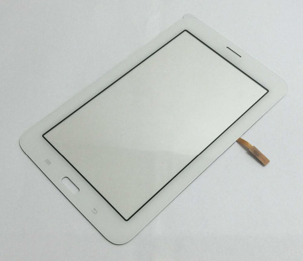 Black / White Touch Screen Panel Sensor Digitizer Glass For Samsung Galaxy Tab 3 Lite 7.0 T111 SM-T111 Repair Replacement repair part replacement touch screen frame for nds lite white
