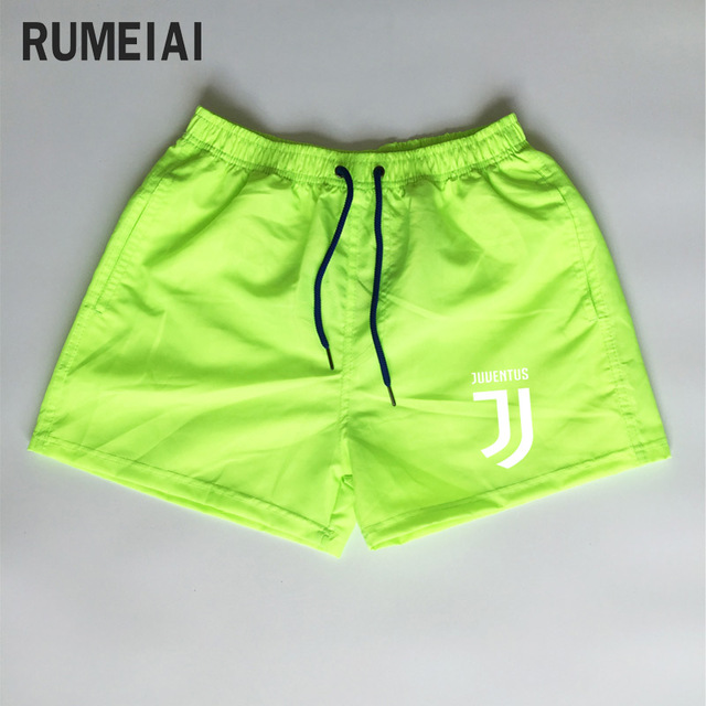 Shorts Mens Bermuda 2018 Summer Beach Men shorts Juventus Letter print Male Brand MenS Short Casual Fitness Jogger 7 color XXXL