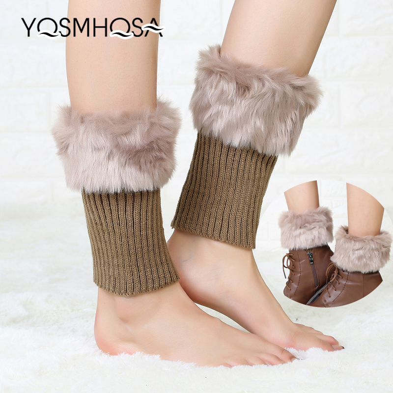 Retro Warm Rabbit Stockings Women Winter Polyester Thigh High Socks Long Sock Girls Long Sexy Socks Knee High Socks Thick WK010