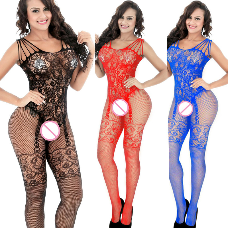Sexy lingerie cute bunny role plating uniform women sexy patent leather lace jumpsuit sexy nightwear