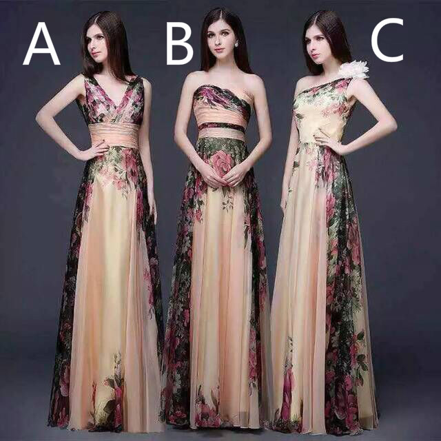 Online Buy Wholesale pattern bridesmaid dresses from China pattern ...