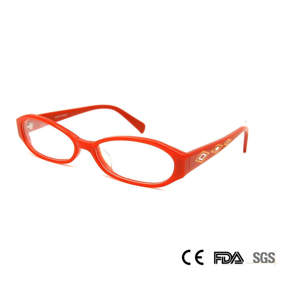 Sorbern Baru Fashion Red Square Bingkai Kacamata Wanita Retro Pola Kacamata  Lensa Tontonan Bingkai Oculos Di e58adf9e35