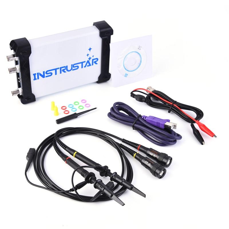 ISDS205B 5 IN 1 Multifunctional PC Based USB Digital Oscilloscop/Spectrum Analyzer/ DDS/Sweep/Data Recorder 20M 48MS/s