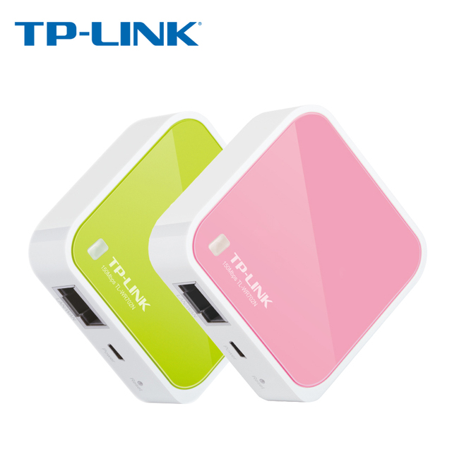 US $20 45 |Tp Link wifi Router 150M Mini Wireless wifi repeater Router  802 11b 2 4G VPN TP Link TL WR702N wifi extender wifi routers-in Wireless