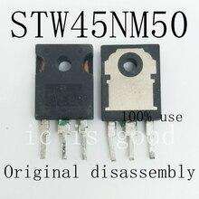 5 pces 20 pces stw45nm50 w45nm50 45nm50 a 247 desmontagem original