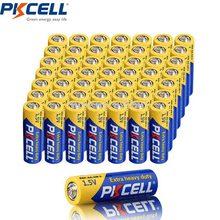 50 adet R6P PKCELL AA pil aa 2a 105min 1.5V r6p UM3 MN1500 E91 süper ağır hizmet pilleri için saatli radyo oyuncaklar