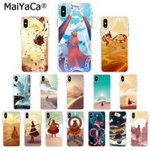 MaiYaCaเกมJourney TPUใสกรณีสำหรับiPhone 8 7 6 6S Plus 5 5S SE XR X XS MAX Coque Shell(China)