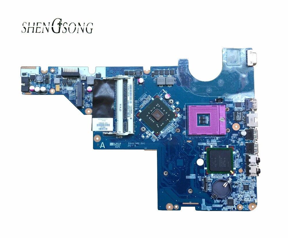 Livraison Gratuite 616449-001 pour HP G42 CQ56 G56 CQ42 G62 carte mère Ordinateur Portable GL40 ordinateur portable carte mère DAAX3MB16A1, 100% entièrement testé