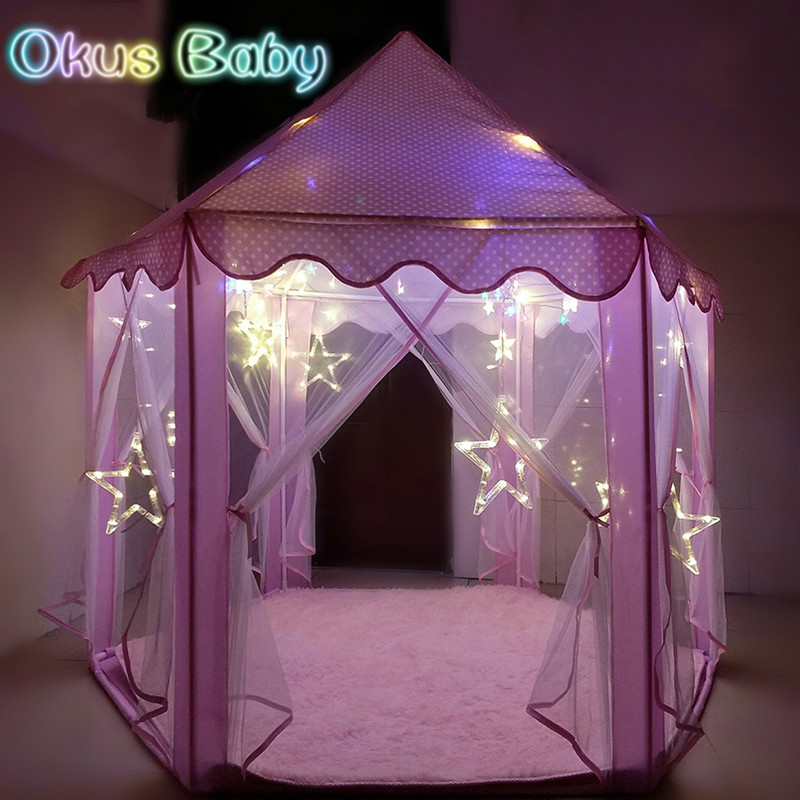 2018 Brand New Indoor Children s Toy Tents for Kids Game Castle Play Tent Doll House