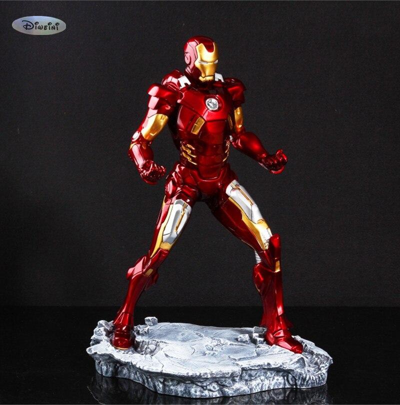 Iron Man 1/6 1:6 MARK VII MK7 31CM Brozen. Sliver Or Color Painted Resin Model MK7 Decoration Statue The Avengers Bust WU597