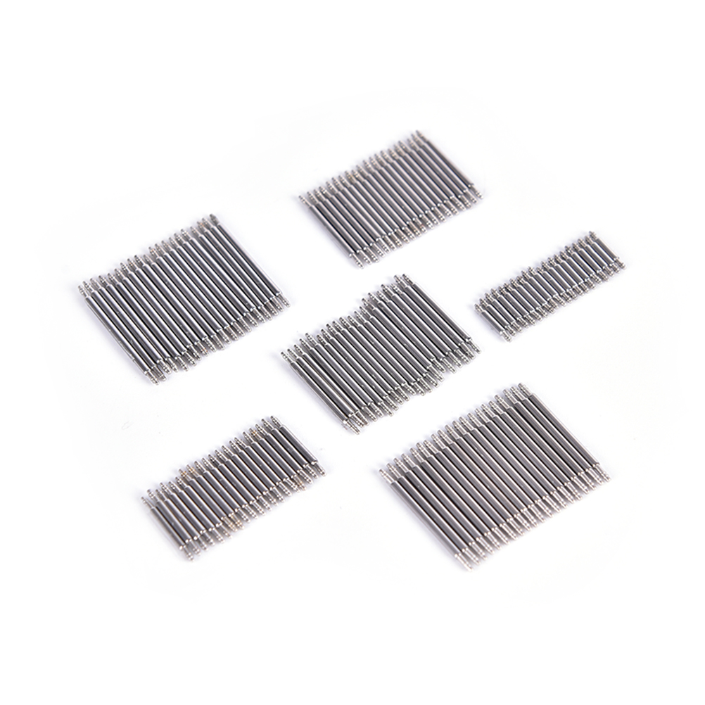 20pcs 8-22mm Stainless Steel Watch Band Strap Spring Bar Link Pins Remover New Silver