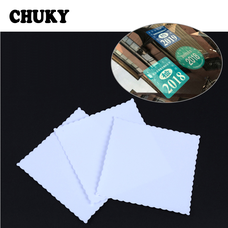 CHUKY Transparent Car Static Electricity Stickers Windshield Protector Film For Renault Megane 3 Kia Rio Ceed Mitsubishi Lancer