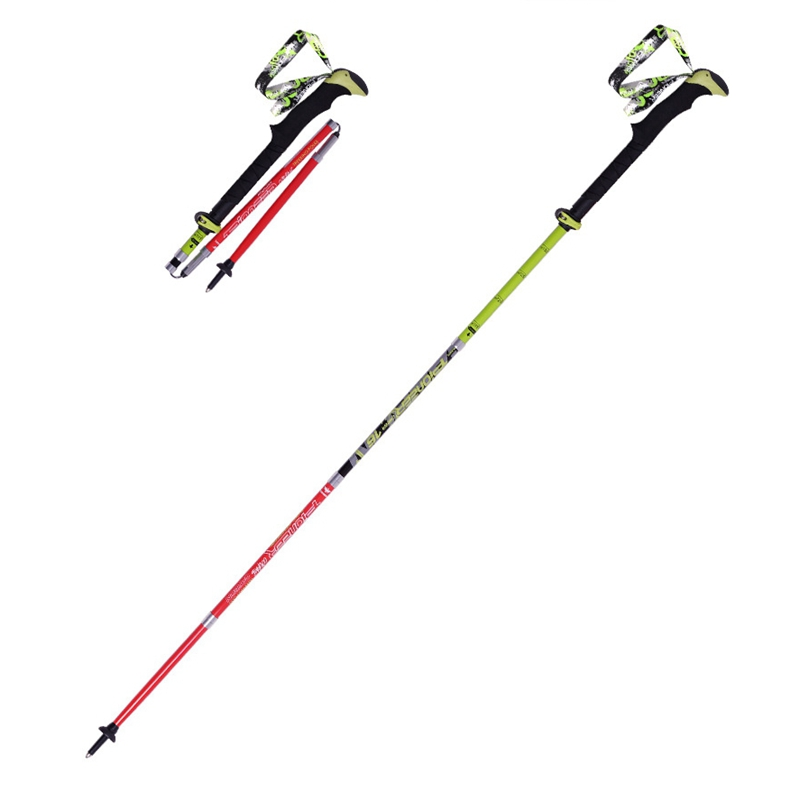 ultra light folding nordic walking poles carbon fiber. Black Bedroom Furniture Sets. Home Design Ideas