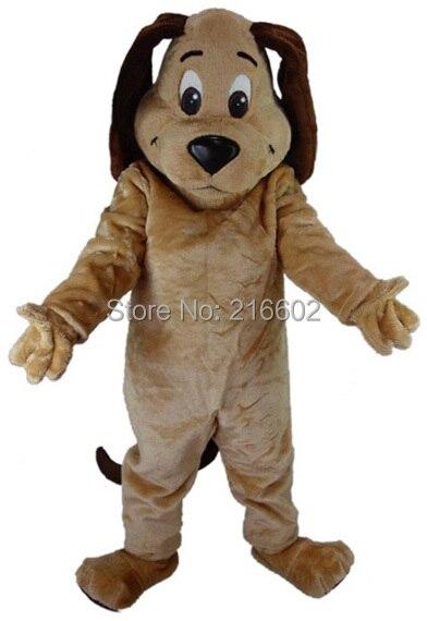 Карнавальные костюмы коричневая собака талисман мертвый костюм Хэллоуин