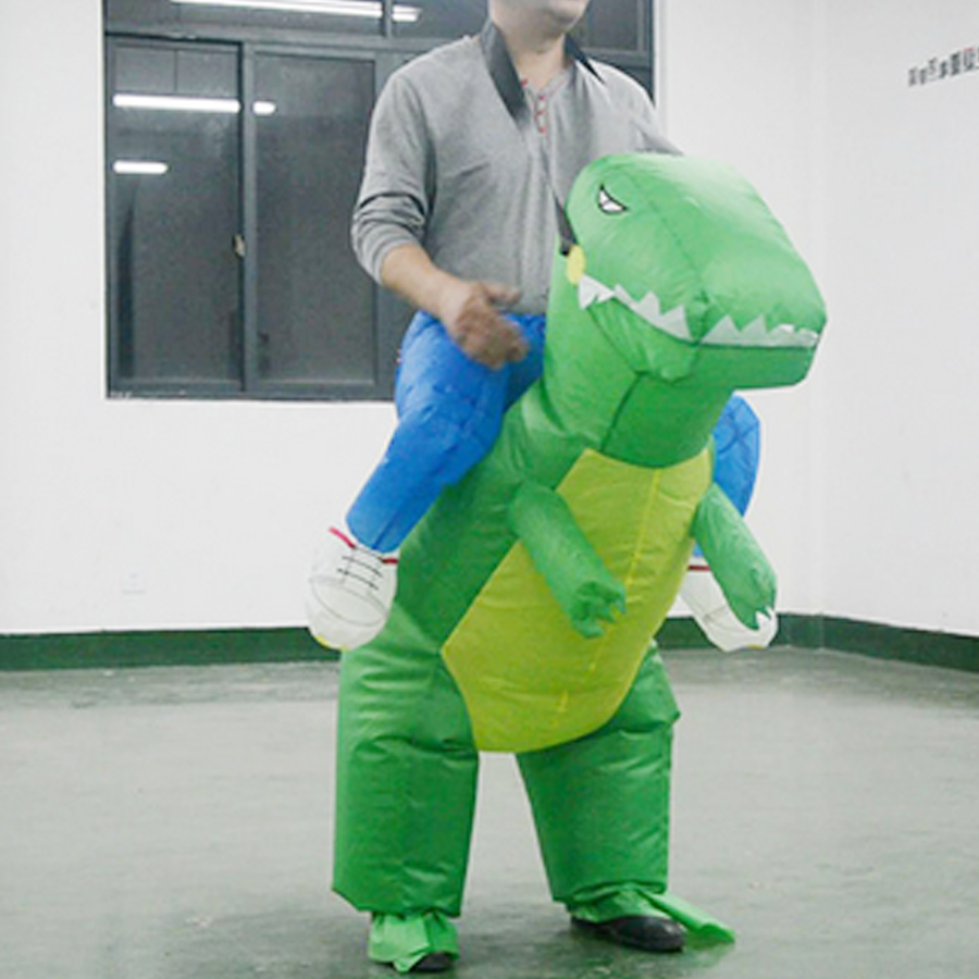 Adult Halloween Christmas Anime Cosplay fantasias Inflatable Dinosaur Clothes Party Supplies Cloth Funny Clothing Stage Costumes