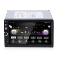 Foval 7 Inch HD 1024 600 Capacitive Screen 7 Colorful Light Function Car DVD MP3 Player