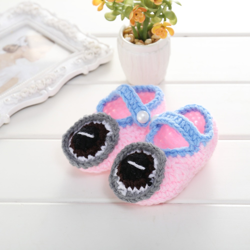 Cute Car design Handmade Knit baby knitting Woolen Sock Shoes baby photography props 5BS45
