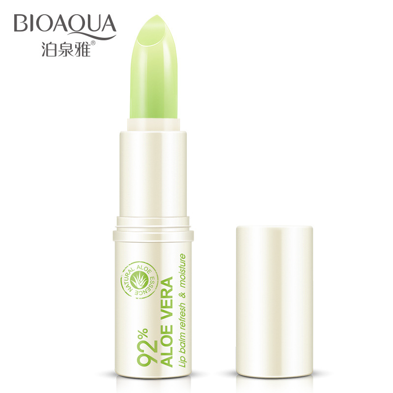BIOAQUA Aloe Vera Lip Balm Lip Balm city shop ncs107 horse oil repair lip balm 1 5g