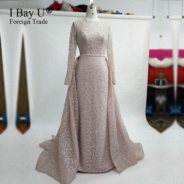 Echt Fotos Arabisch Mädchen Kleider Glitter Mermaid Abendkleider ...