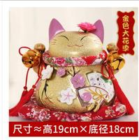 Lucky Cat Ornaments Opened Gifts Genuine Japanese King Ceramic Ornaments Shop Creative Bank Japan Creative Ornaments