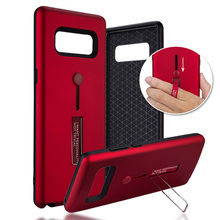 HOPELF Functional Case Samsung Galaxy Note 8 Case Cover Coque Ring Holder PC Silicone Phone Cover