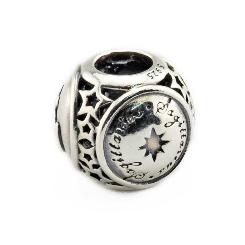 Sagittarius Star Sign Charm Beads Diy Fits Pandora Original Charms Bracelet 925 Sterling Silver Jewelry For Women Men Gift Fl423 Jewelry & Accessories Beads & Jewelry Making