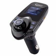 Coche Reproductor de Mp3 Bluetooth Manos Libres Kit de Coche Transmisor Fm Modulador de FM Inalámbrico Radio Adaptador AUX Audio Estéreo USB Cargador T11