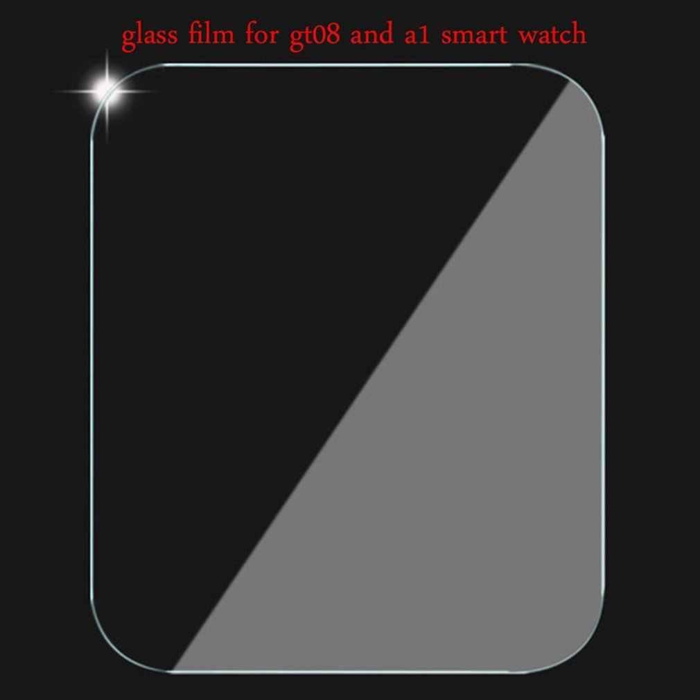 رقيقة جدا الزجاج المقسى ل GT08 ساعة ذكية واقي للشاشة المضادة للخدش ووتش أدوات وكماليات
