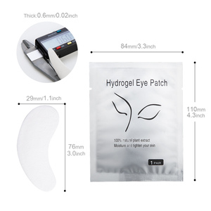 Image 3 - 50pairs/pack New Paper Patches Eyelash Under Eye Pads Lash Eyelash Extension Paper Patches Eye Tips Sticker Wraps Makeup Tool