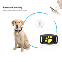 Dog Water Resistant Collar GPS Tracker Pet GPS Callback Function USB Charging GPS Trackers for Universal Dogs