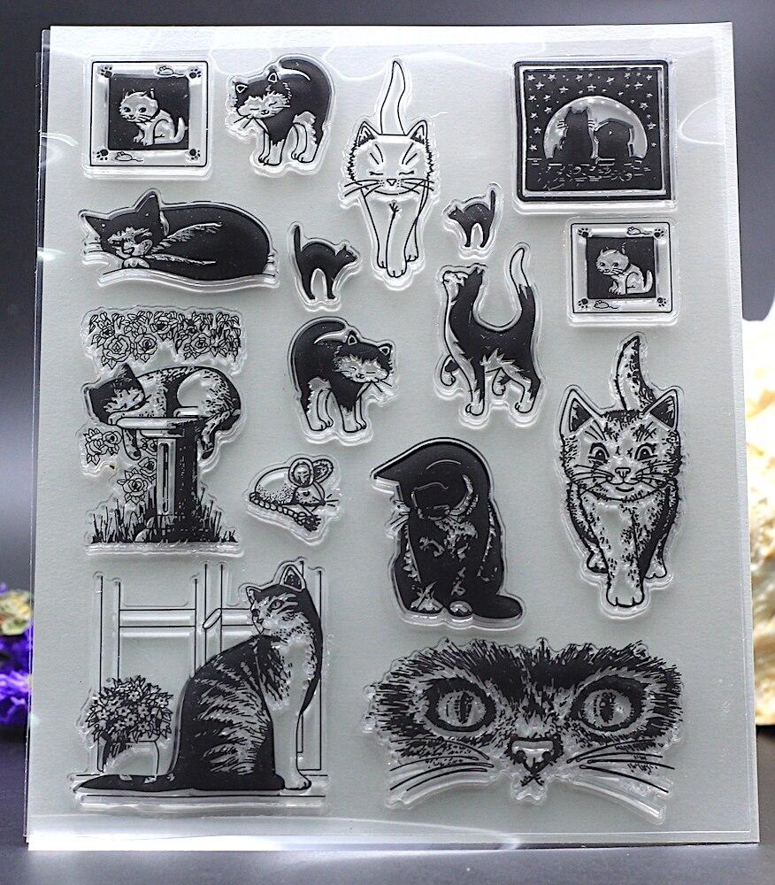 Scrapbook paper aliexpress - Clear Stamps Diy Scrapbook Card Album Paper Craft