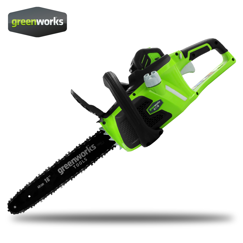 Greenworks <font><b>Chain</b></font> Saw , <font><b>Chainsaw</b></font> ,with 4.0ah battery and charger ,