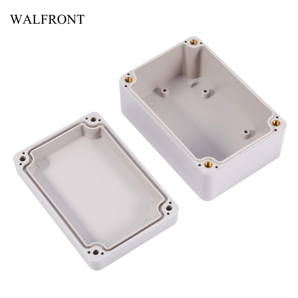 Walfront 1pc Waterproof Junction Boxes Electrical Enclosure Wiring Of Iron Box Connection Abs Flame Outdoor Terminal Cable Home Tool In From Tools On