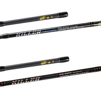 YUANWEI Spinning Rod 2 Secs 1.98m/2.1m M Power IM7 Carbon 99% FUJI Accessories Lure Fishing Rods Vara De Pesca Carp Fishing Olta