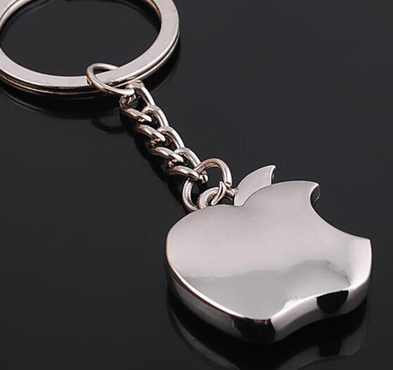 Kreatywne prezenty jabłko brelok brelok do kluczy nowość pamiątkowe Apple brelok do kluczy brelok samochodowy uchwyt na klucze hurtownie 60 sztuk/partia w Breloczki na klucze od Biżuteria i akcesoria na  Grupa 1