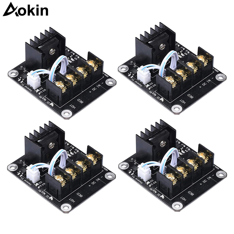 3D Printer Hot Bed Power Expansion Board Heating Controller MOSFET High Current Load Module 25A 12V Or 24V For 3D Printer Parts