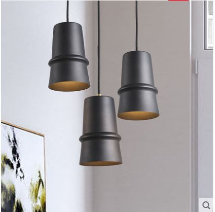 Nordic simple modern guest restaurant bedroom bed head home atmosphere creative personality wrought iron lampshade small chandelNordic simple modern guest restaurant bedroom bed head home atmosphere creative personality wrought iron lampshade small chandel
